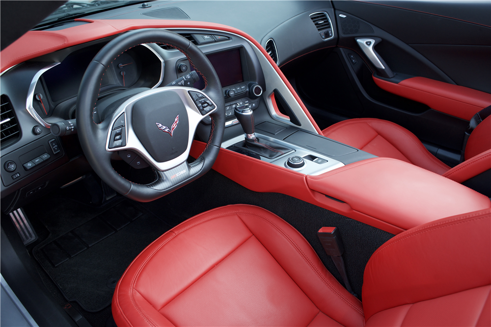 2015 CHEVROLET CORVETTE Z06 CONVERTIBLE - Interior - 214605