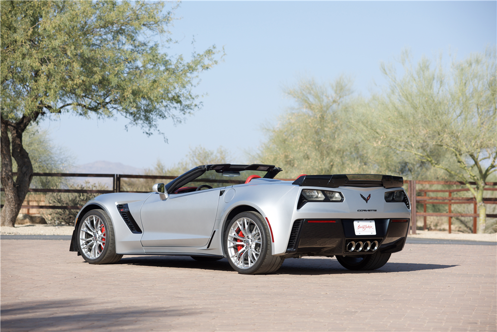 2015 CHEVROLET CORVETTE Z06 CONVERTIBLE - Rear 3/4 - 214605