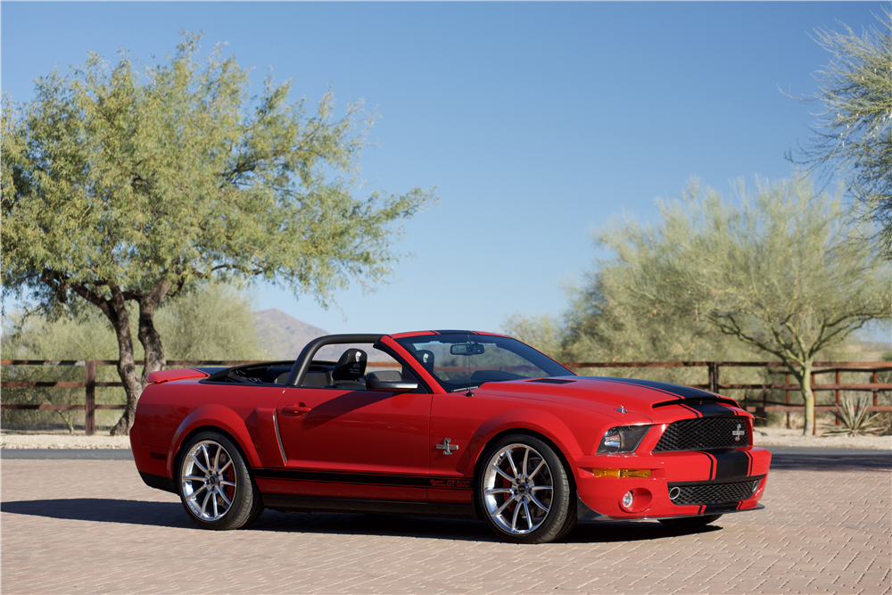 2008 FORD SHELBY GT500 SUPER SNAKE CONVERTIBLE - Front 3/4 - 214608