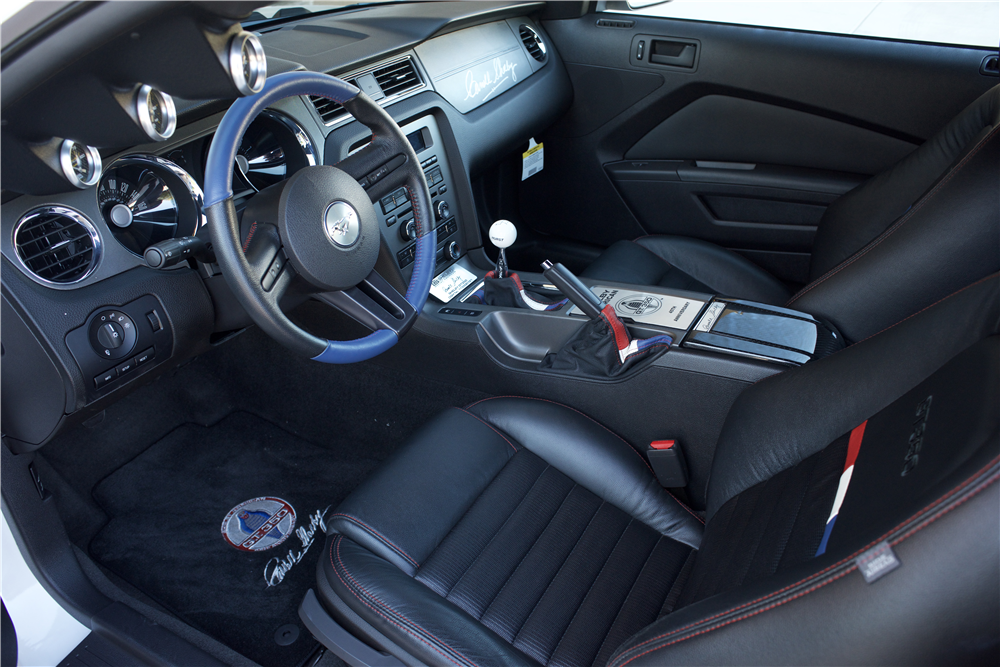2011 FORD SHELBY GT350 - Interior - 214609