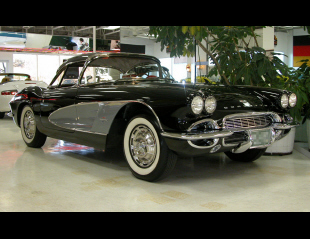 1961 CHEVROLET CORVETTE CONVERTIBLE -  - 21470