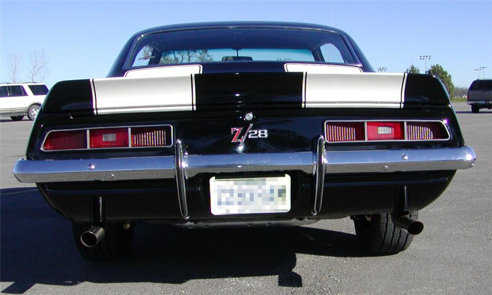 1969 CHEVROLET CAMARO Z/28 COUPE - Rear 3/4 - 21478