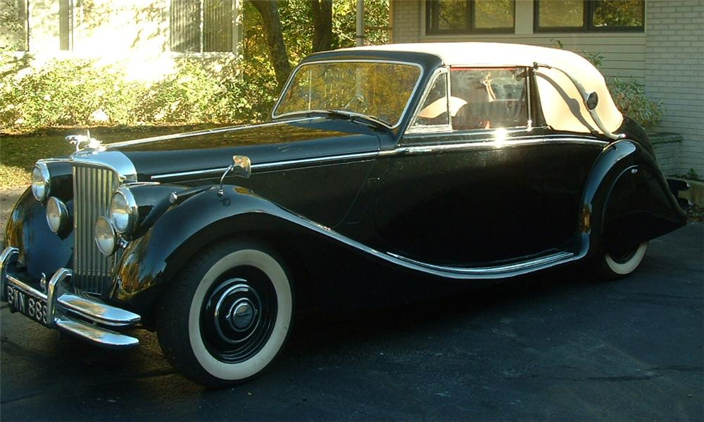 1951 JAGUAR MARK V CONVERTIBLE - Front 3/4 - 21479
