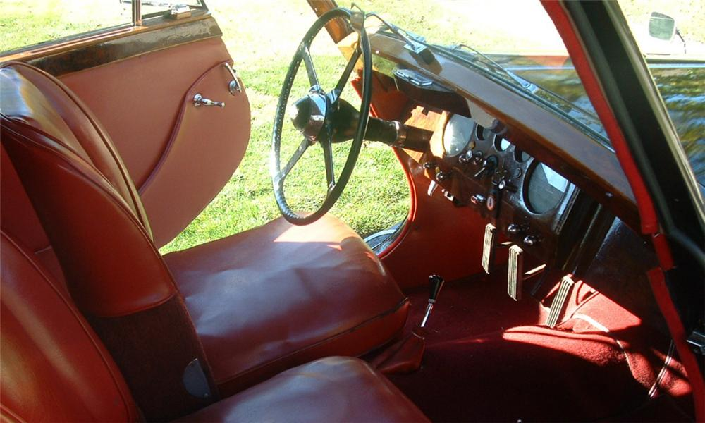 1951 JAGUAR MARK V CONVERTIBLE - Interior - 21479