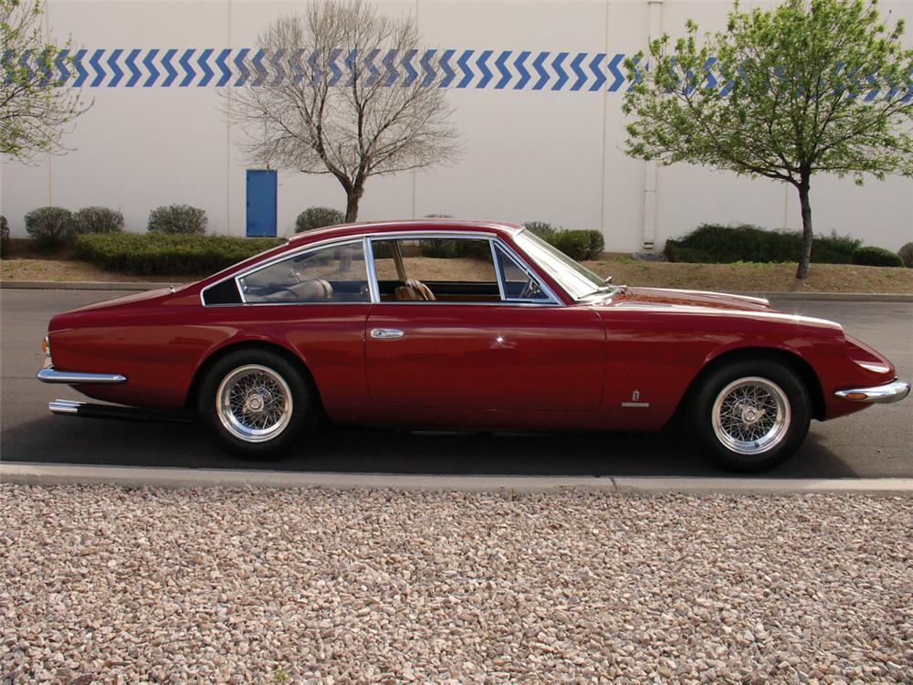 1967 FERRARI 365 GT 2+2 - Side Profile - 21490