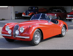 1954 JAGUAR XK 120 ROADSTER -  - 21492