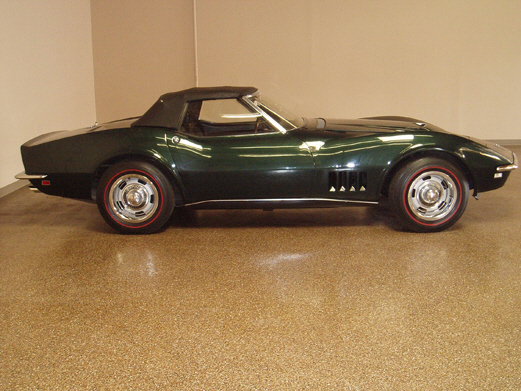 1968 CHEVROLET CORVETTE 427/400 CORVETTE - Side Profile - 21496