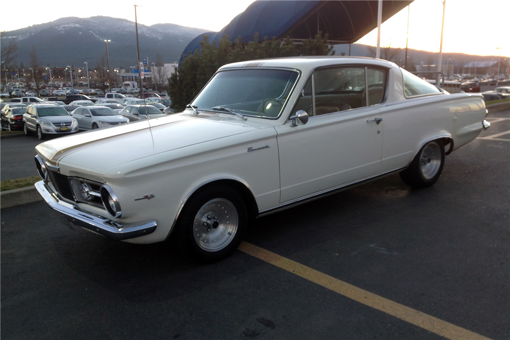 1965 PLYMOUTH BARRACUDA - Front 3/4 - 215020
