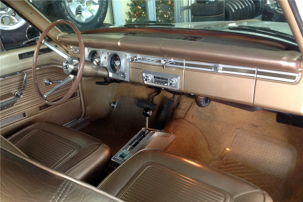 1965 PLYMOUTH BARRACUDA - Interior - 215020