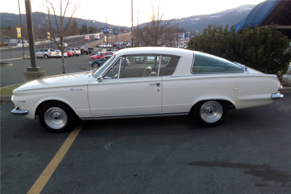 1965 PLYMOUTH BARRACUDA - Side Profile - 215020