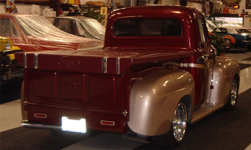 Pickup Truck Running Boards >> 1951 FORD F-150 CUSTOM PICKUP - 21509