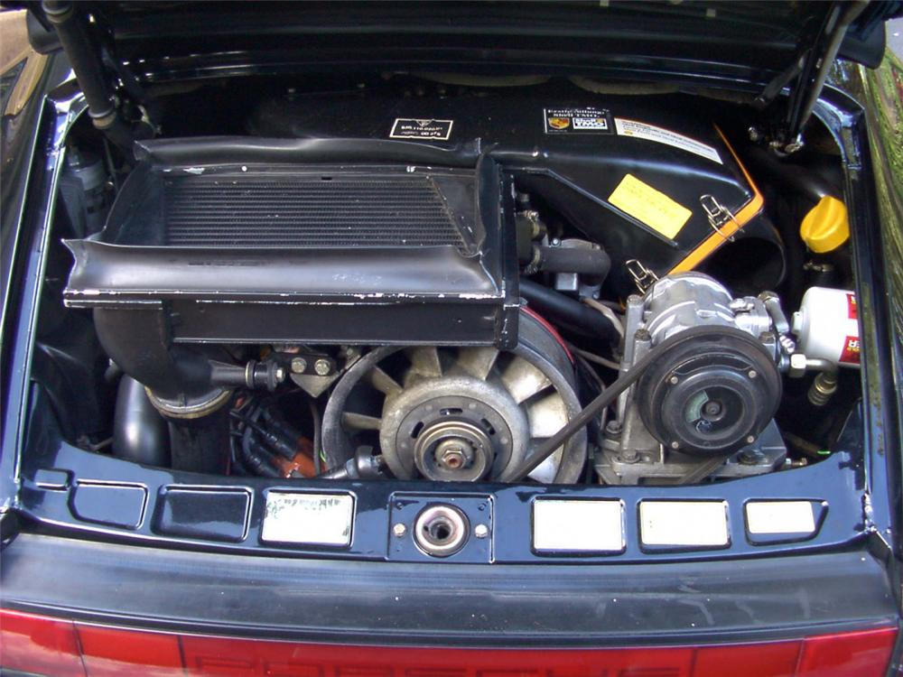 1989 PORSCHE 930 TURBO CABRIOLET - Engine - 21511