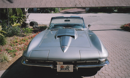 1967 CHEVROLET CORVETTE 427/390 CONVERTIBLE NCRS TOP FLIGHT - Engine - 21520