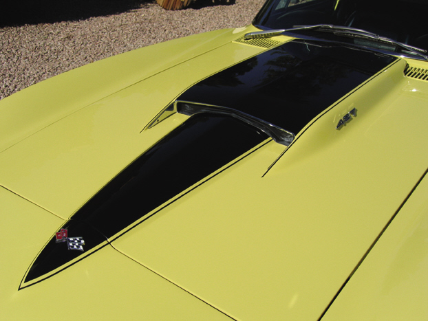 1967 CHEVROLET CORVETTE 427/400 CONVERTIBLE - Side Profile - 21523