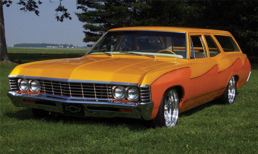 1967 Chevrolet Bel Air Custom Wagon 21524