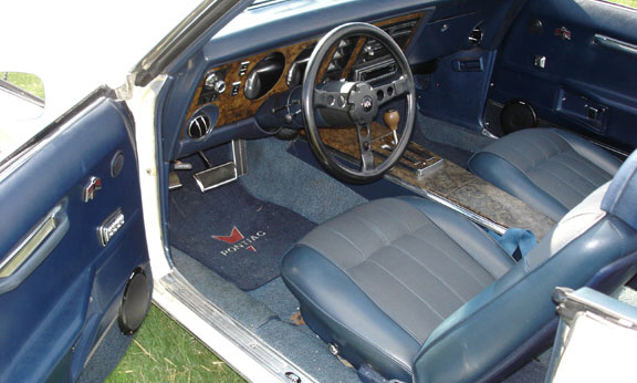 1969 PONTIAC TRANS AM CONVERTIBLE CLONE - Interior - 21528