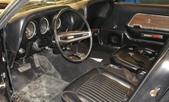 1969 FORD MUSTANG 302 BOSS RE-CREATION - Interior - 21529