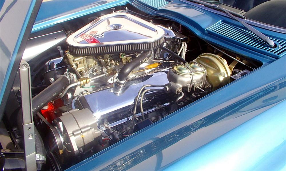 1967 CHEVROLET CORVETTE 427/435 CONVERTIBLE - Engine - 21534