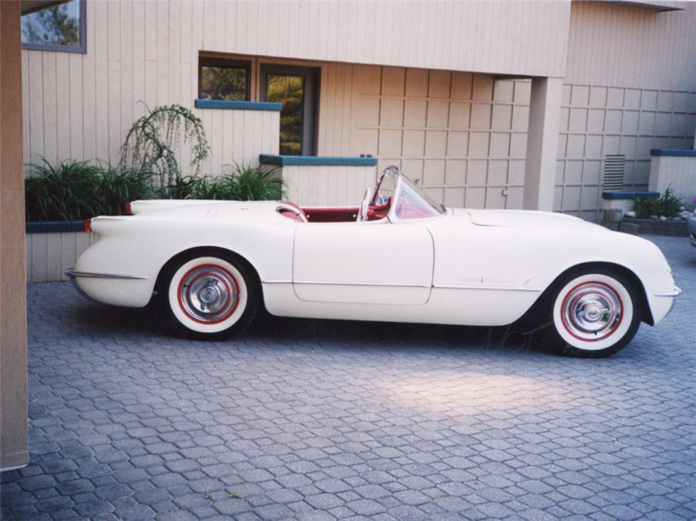 1955 CHEVROLET CORVETTE CONVERTIBLE - Side Profile - 21547