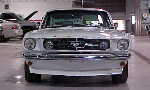 1965 FORD MUSTANG CUSTOM FASTBACK - Side Profile - 21570