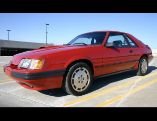 1985 FORD MUSTANG SVO COUPE -  - 21572