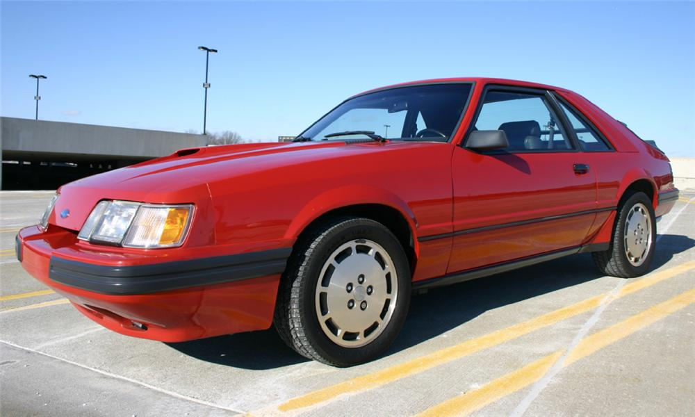 1985 ford mustang svo coupe 21572. Black Bedroom Furniture Sets. Home Design Ideas
