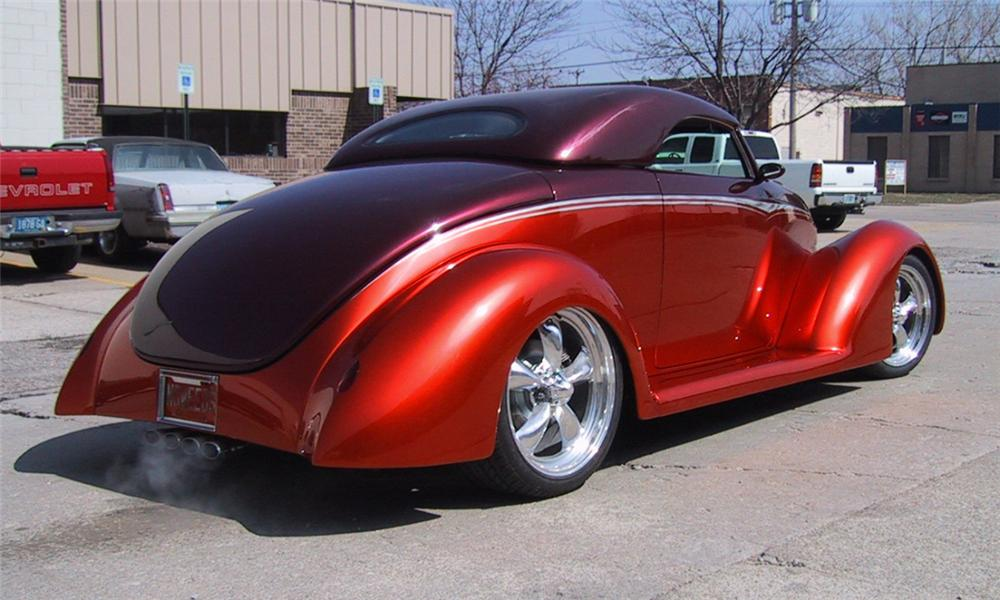 1939 FORD STREET ROD CONVERTIBLE - Rear 3/4 - 21577