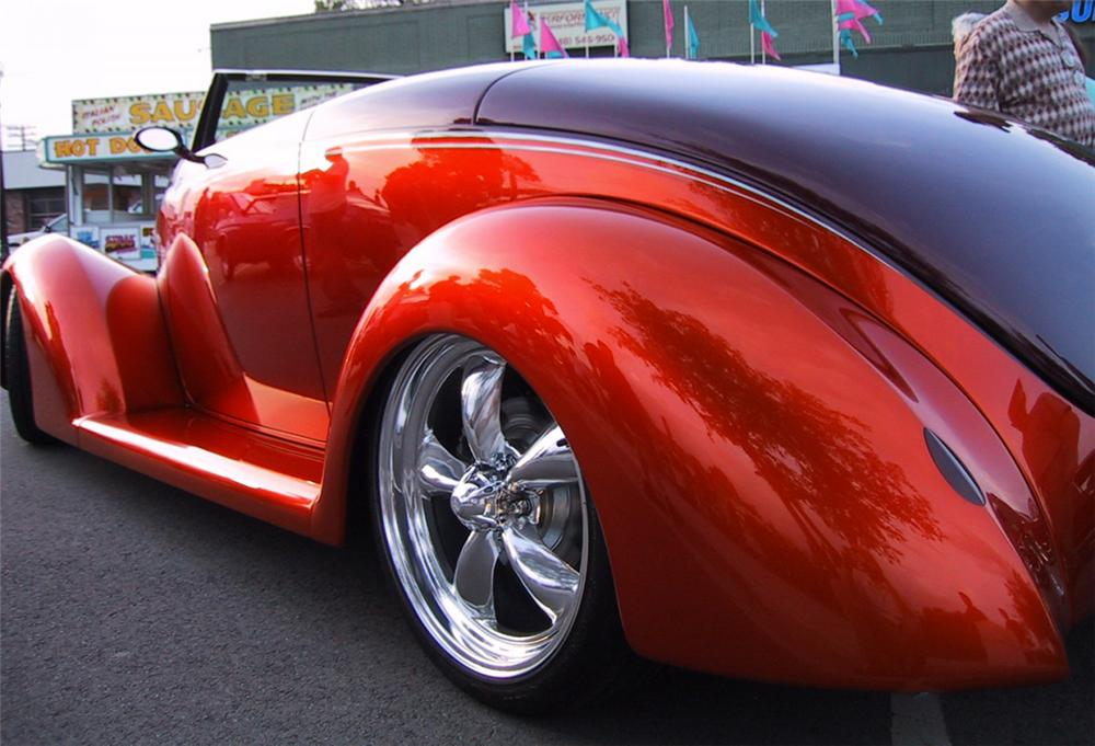 1939 FORD STREET ROD CONVERTIBLE - Side Profile - 21577