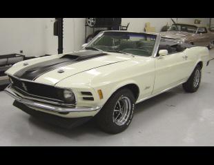 1970 FORD MUSTANG CONVERTIBLE -  - 21588