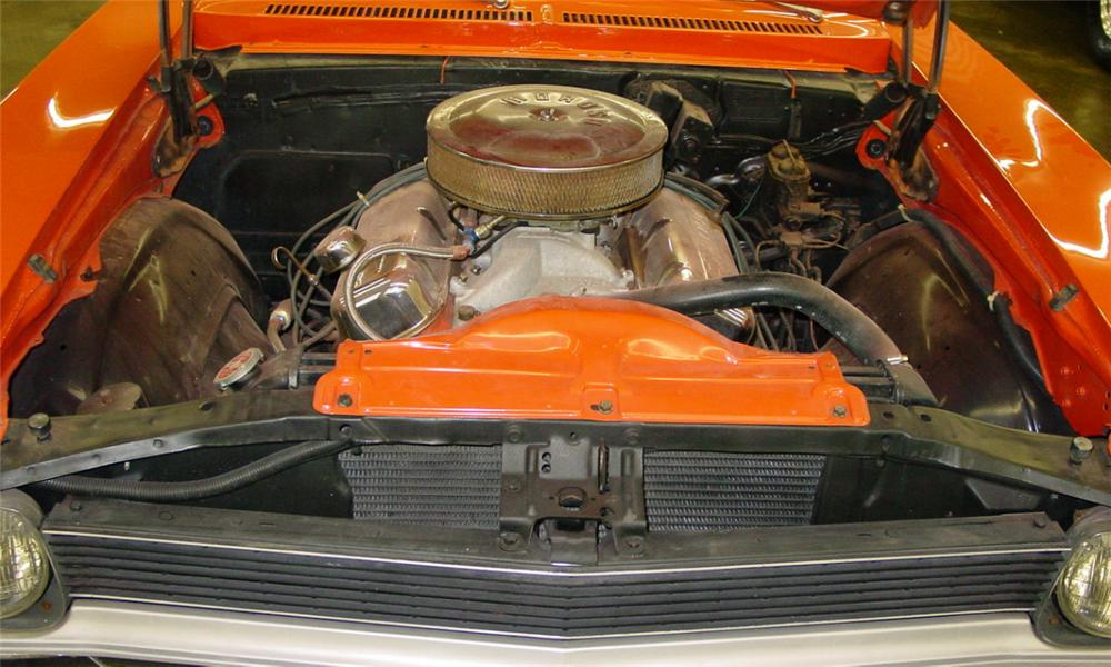 1970 CHEVROLET NOVA COUPE - Engine - 21591