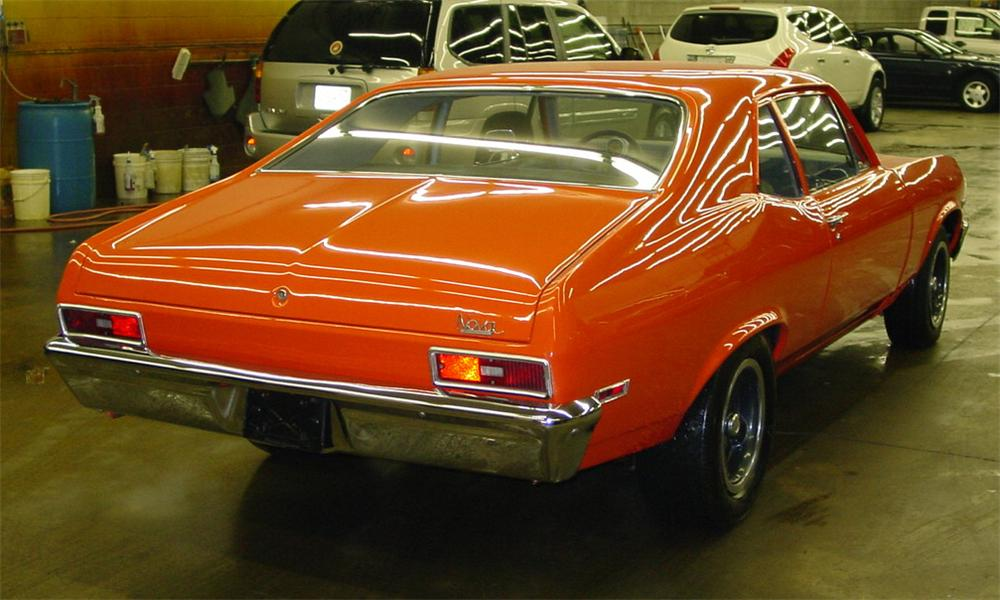 1970 CHEVROLET NOVA COUPE - Rear 3/4 - 21591