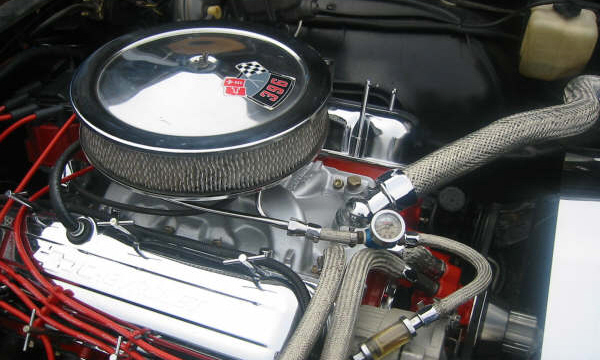 1969 CHEVROLET CHEVELLE SS COUPE - Engine - 21592
