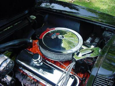 1966 CHEVROLET CORVETTE 427 COUPE - Engine - 21613
