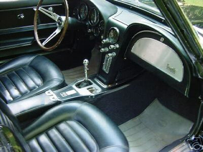 1966 CHEVROLET CORVETTE 427 COUPE - Interior - 21613