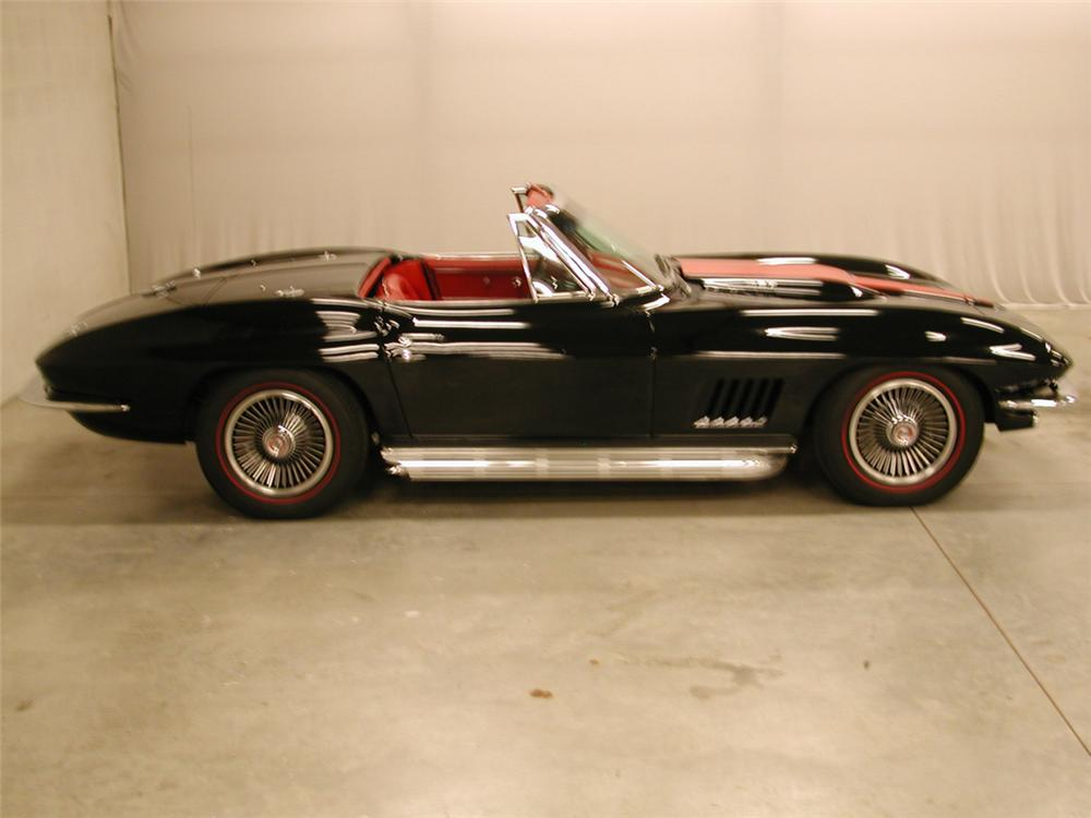 1967 CHEVROLET CORVETTE 427/435 COUPE - Side Profile - 21622
