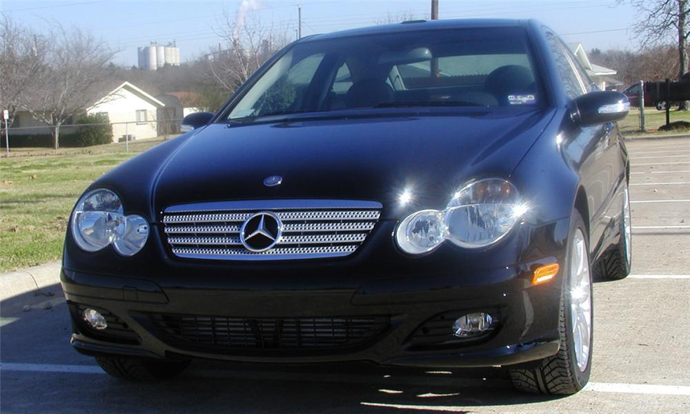 2005 MERCEDES-BENZ 230C SPORT COUPE - Front 3/4 - 21644