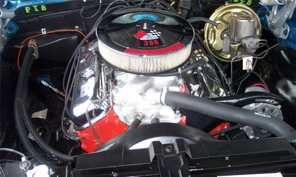 1968 CHEVROLET CAMARO SS COUPE - Engine - 21650