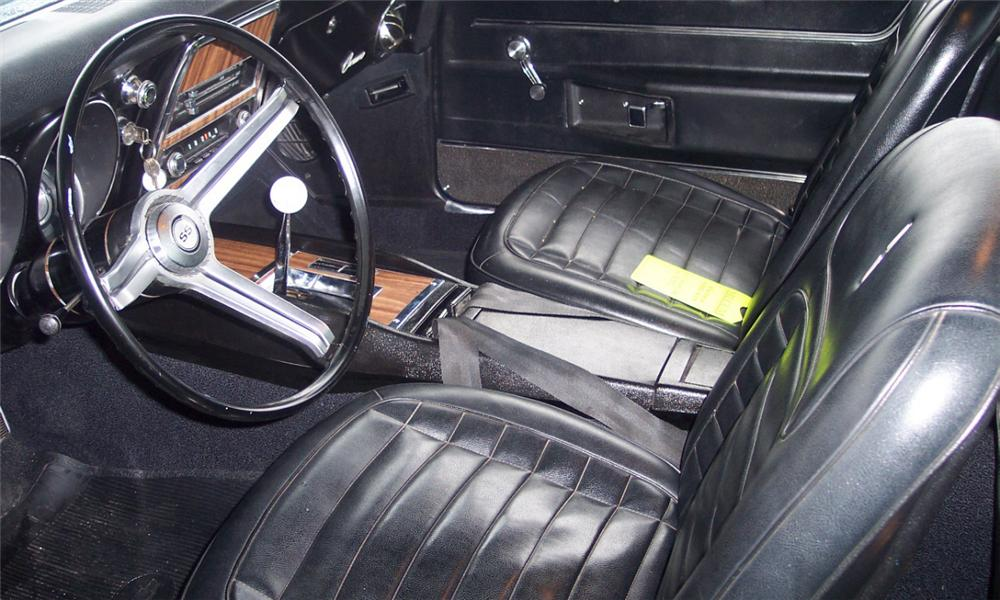 1968 CHEVROLET CAMARO SS COUPE - Interior - 21650