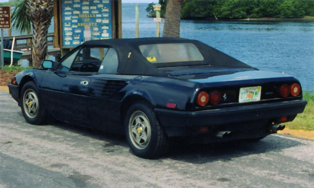 1985 ferrari mondial convertible 21654. Black Bedroom Furniture Sets. Home Design Ideas