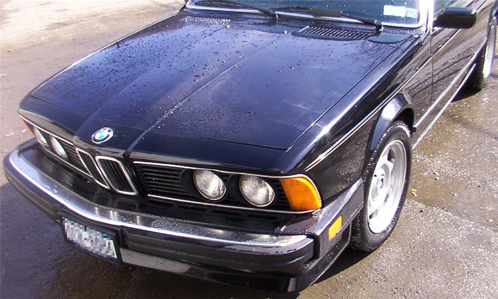 1987 BMW 635 L6 COUPE - Engine - 21656