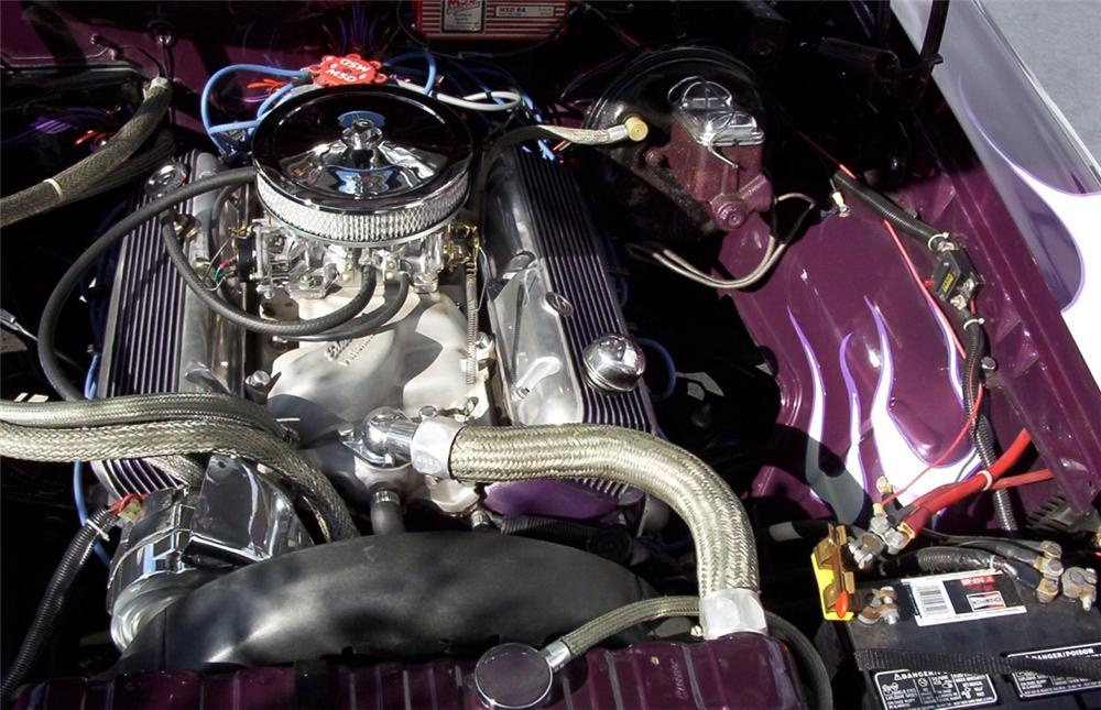 1966 PONTIAC LEMANS CUSTOM CONVERTIBLE - Engine - 21661