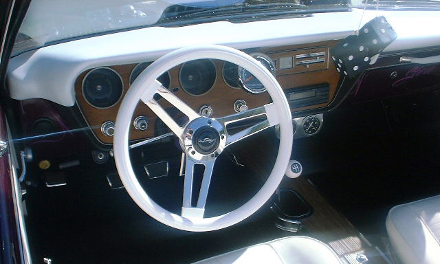 1966 PONTIAC LEMANS CUSTOM CONVERTIBLE - Interior - 21661