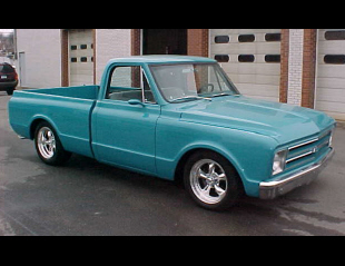 1968 CHEVROLET CUSTOM PICKUP -  - 21664