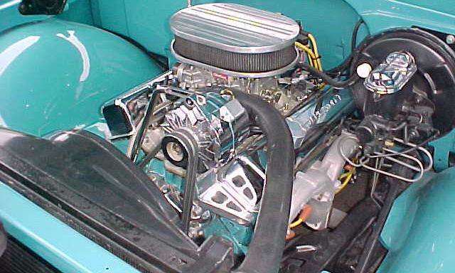 1968 CHEVROLET CUSTOM PICKUP - Engine - 21664
