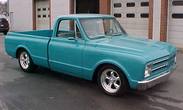 1968 CHEVROLET CUSTOM PICKUP - Front 3/4 - 21664