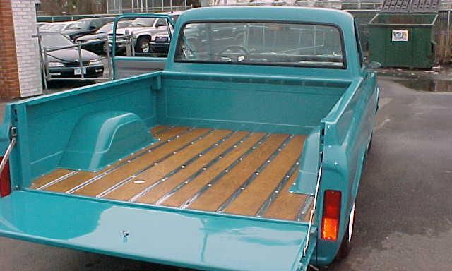 1968 CHEVROLET CUSTOM PICKUP - Rear 3/4 - 21664