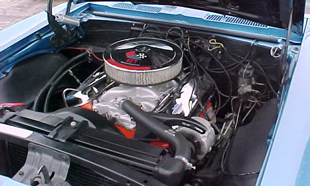 1967 CHEVROLET CAMARO RS/SS COUPE - Engine - 21666