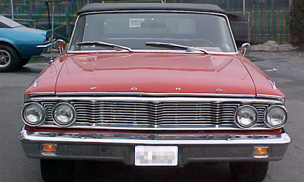 1964 FORD GALAXIE CUSTOM CONVERTIBLE - Engine - 21667