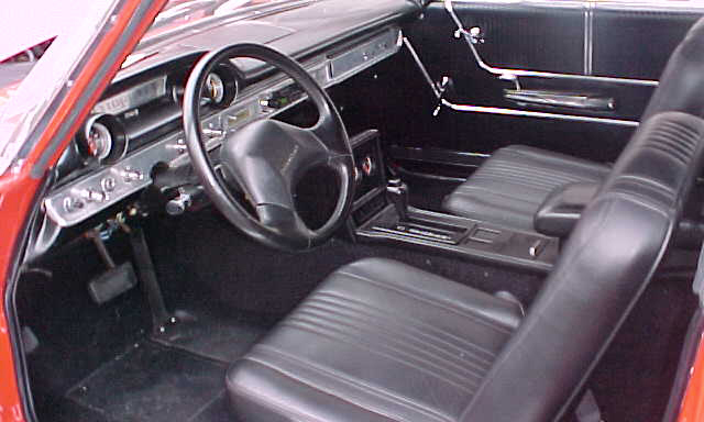 1964 FORD GALAXIE CUSTOM CONVERTIBLE - Interior - 21667