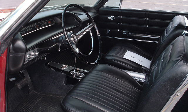 1963 CHEVROLET IMPALA SS CONVERTIBLE - Interior - 21671